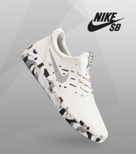 Shop all Nike's featuring the Snow Camo Nyjah