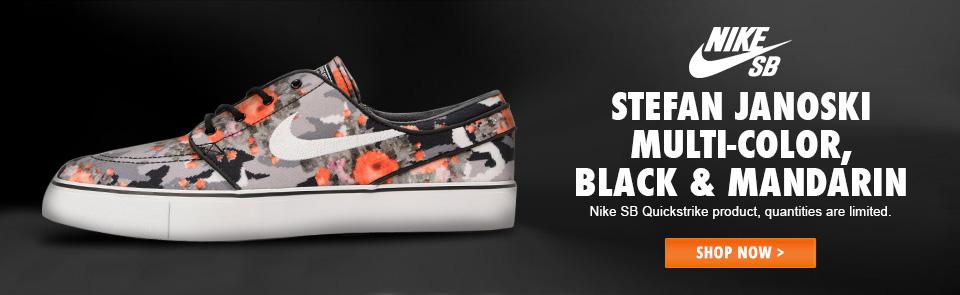 finest selection 14978 2bdee Nike SB Zoom Stefan Janoski Mandarin Shoe