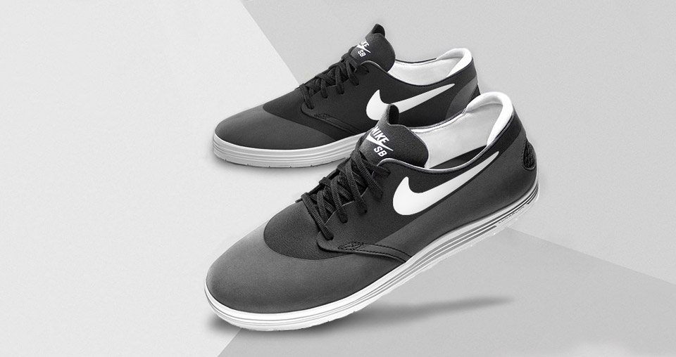 Nike Sb Lunar One Shot Black