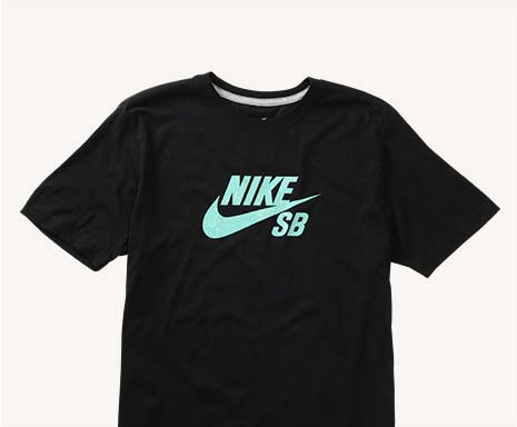 Dri-Fit Icon Heather Black/Speckle Tee