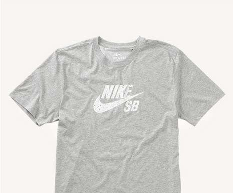 Dri-Fit Icon Heather Grey/Speckle Tee