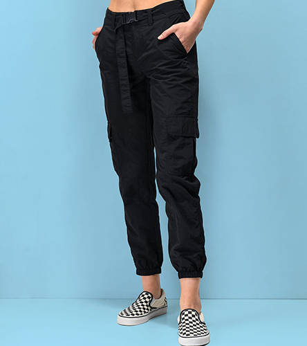 Browse our selection of pants, leggings and track pants for women, featuring new styles of cargo pants from Ninth Hall.