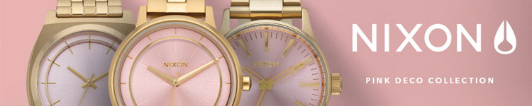 Nixon - Pink Deco Collection