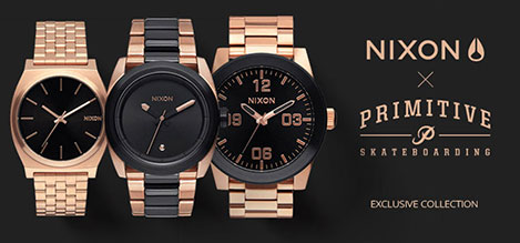 Nixon x Primitive Collection