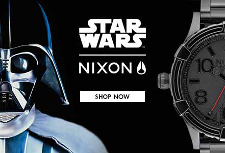 New Star Wars Watchs by Nixon