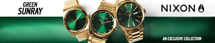 Nixon Gold Green Sunray