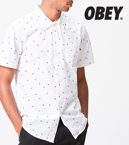 As far as your question goes, yes, some Obey clothing is made in China. 95% of the tee shirts are made and printed in the U.S. Many of the items like jackets, jeans, hats, etc.. are made in Asia.