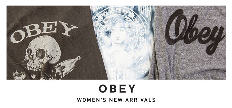 Obey 2015 Spring New Arrivals
