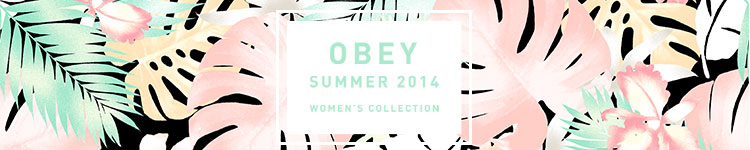 Obeys Womens 2014 Summer Collection