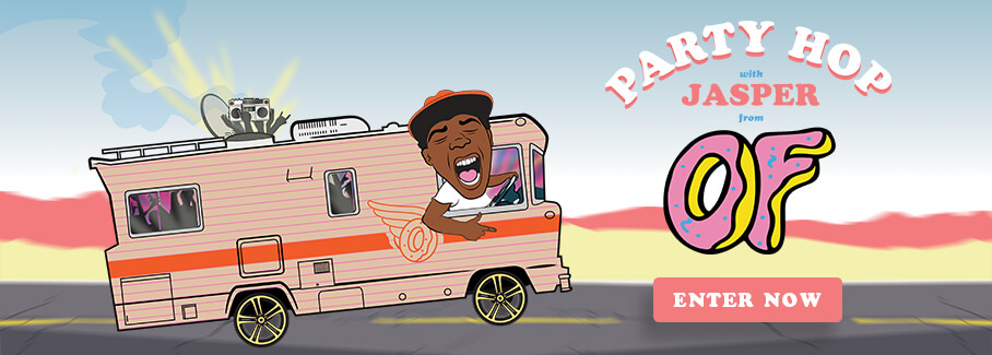 Win a Trip to Party Hop with Jasper from Odd Future