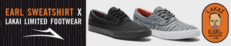 Earl Sweatshirt x Lakai Collection