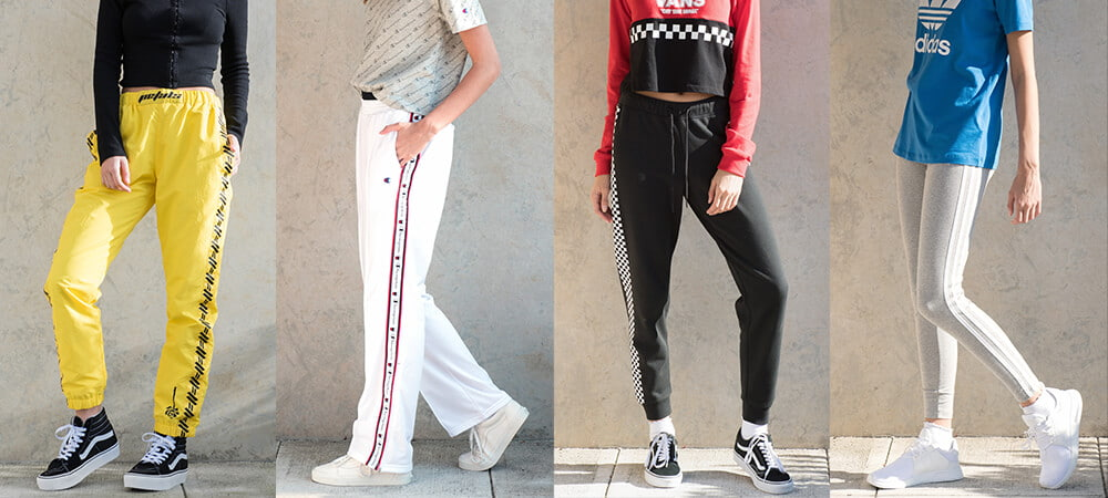 d31be97a4 Pants Styles Track pants, casual pants, sweatpants and leggings from  Champion, Rothco, Vans,