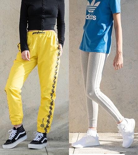 Shop pants and leggings from adidas, Petals & Peacocks, Champion, and other top brands.