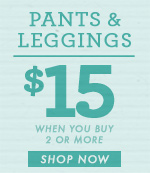 Women's Pants & Leggings - $15 Each For 2 or More