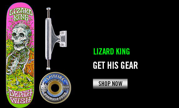 Lizard King's Gear