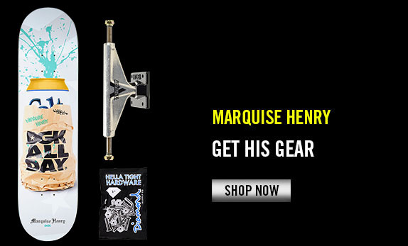 Marquise Henry's Gear