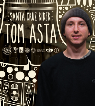 Santa Cruz Rider Tom Asta