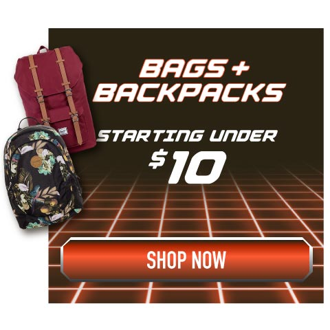 Bags and Backpacks Starting Under $10