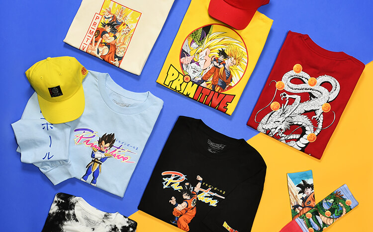 Primitive x Dragon Ball Z Now Available in Kids Sizes!