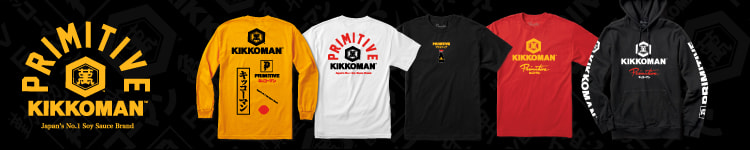 Primitive Skateboards featuring the Kikkoman collaboration