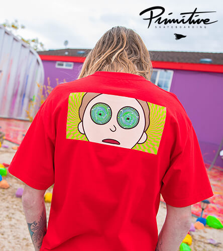 Rick & Morty collaboration with Primitive