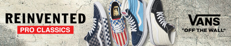 "Vans ""Off the Wall"" - Reinvented Pro Classics"
