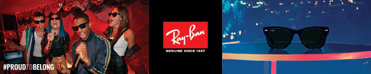 Ray-Ban Genuine Since 1937 #Proud to Belong