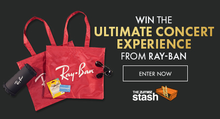 Enter to win the Ultimate Concert Experience From Ray-Ban