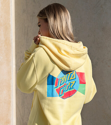 Browse our selection of hoodies and sweatshirts for women, featuring new styles from top brands like Santa Cruz.