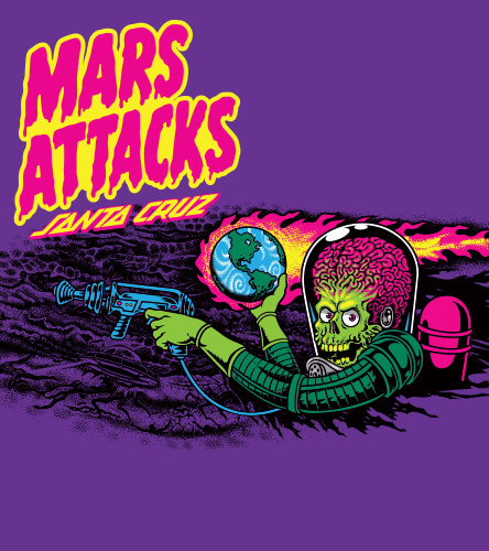 Santa Cruz x Mars Attacks
