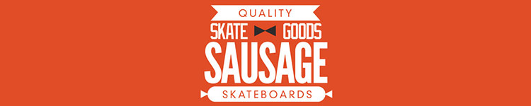 Sausage Skateboards logo