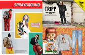 Shop Sprayground backpacks for men and women, and clothing for men from Tripp NYC and Broken Promises.