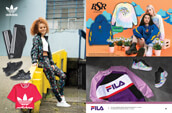 Shop women's clothing and shoes from adidas and Fila, and clothing from By Samii Ryan.