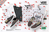 Shop Vans clothing and footwear featuring the new Cherries collection.