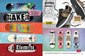 Shop complete skateboards and cruisers, and Etnies footwear.