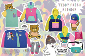 Shop the Teddy Fresh and RipNDip collection.