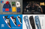 Shop Russel Athletic, adidas, The Gold Gods and Crysp Denim.