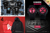 Shop men's Brooklyn Projects, 4 Hunnid and G-Shock watches.