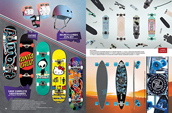 Shop skate protective gear, skate completes, longboards and cruisers.