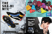 Shop the Vans Sk8 Hi MTE, beanies and Skullcandy headphones.