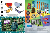 Shop Oakley, Neff and snow gifts.