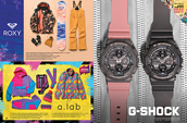 Shop women's Roxy, A-Lba and G-Shock.