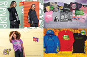 Shop women's RipNDip, Odd Future, Cross Colours x Billie Eilish and more.