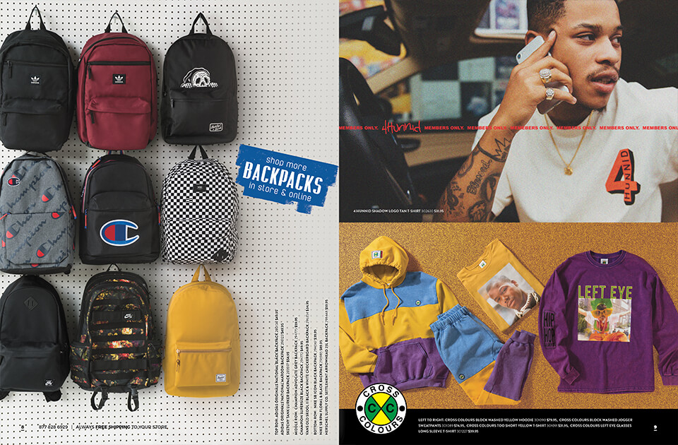 Back to School Catalog, Pages 8-9