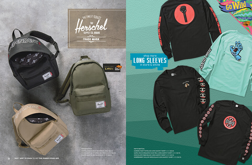 Back to School Catalog, Pages 34-35