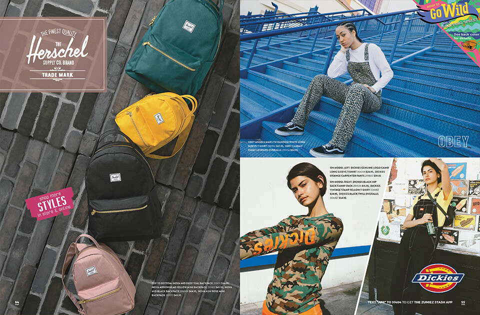 Back to School Catalog, Pages 54-55