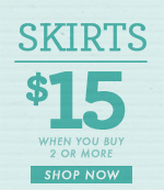 Women's Skirts - $15 Each For 2 or More