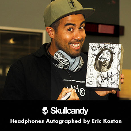 Enter to Win Eric Koston-signed Signature Series Skullcandy Headphones