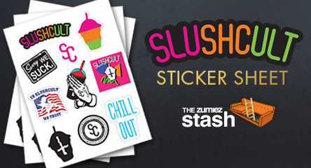 Slushcult Sticker Sheet