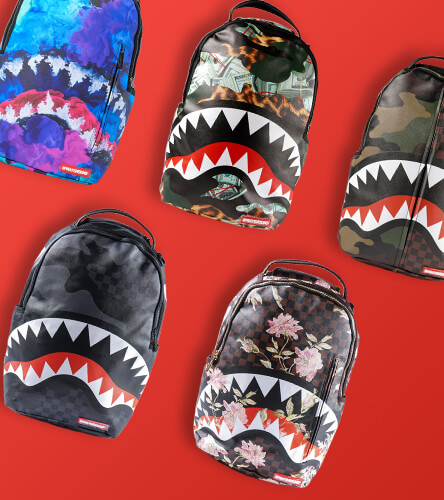 Start school in style with a new backpack from Sprayground.
